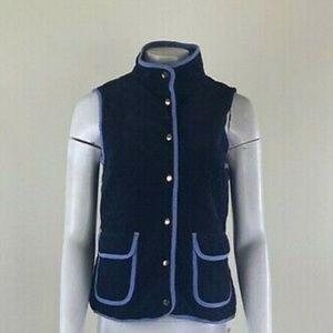 Elizabeth McKay Quilted Corduroy Vest